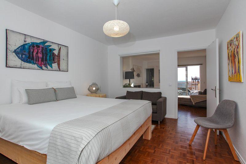 double bed bedroom Villa Terra