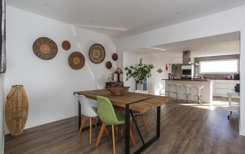 eclectic design dinning room Villa Terra