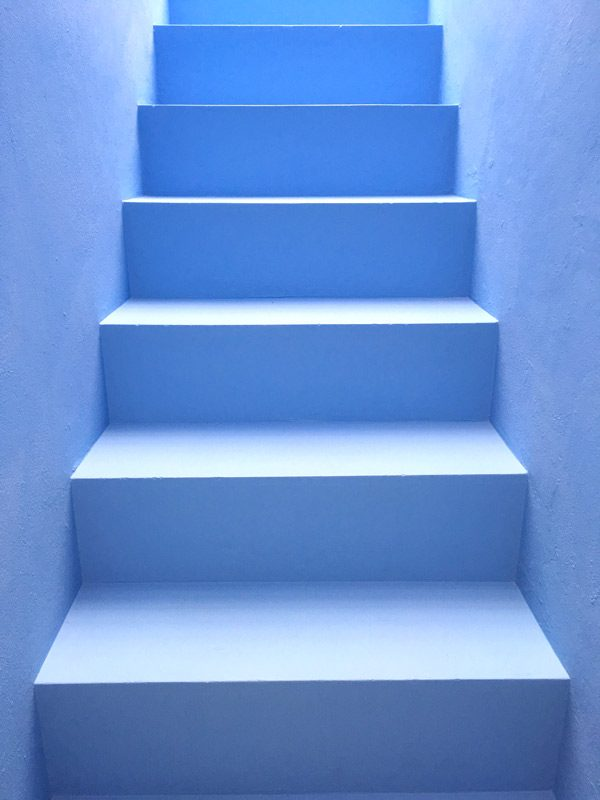 stairs to the perfect azores gateaway