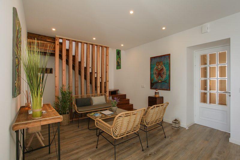 lounge area details Villa Terra